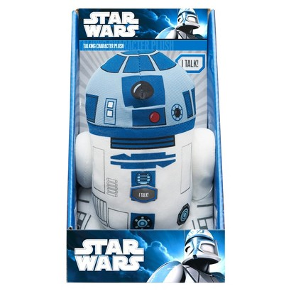"STAR WARS™ Underground Toys R2-D2 Talking Character Plush (9"")"