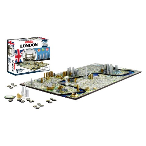 4D™ Cityscape The City of London Time Puzzle