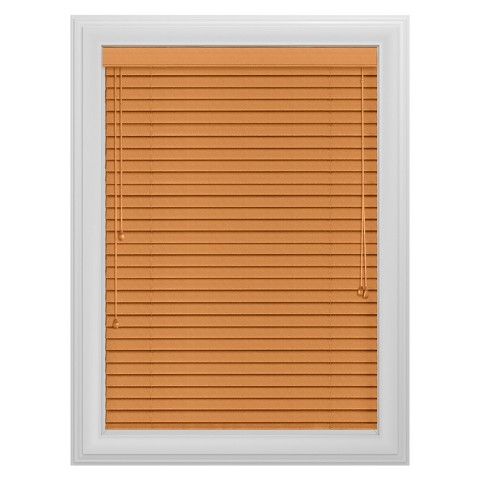 "Bali Essentials® 2"" Real Wood Blind with No Holes"