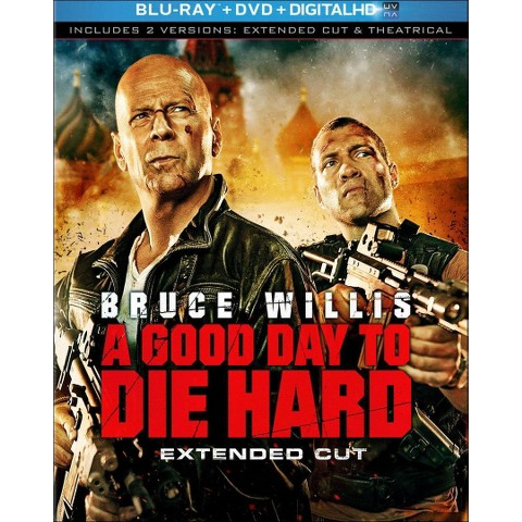 A Good Day to Die Hard (Extended Cut) (2 Discs) (Includes Digital Copy) (UltraViolet) (Blu-ray/DVD) (W)