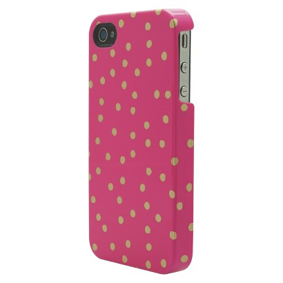 Mara Mi Dots Cell Phone Case for iPhone4/4S - Pink (CO7662)