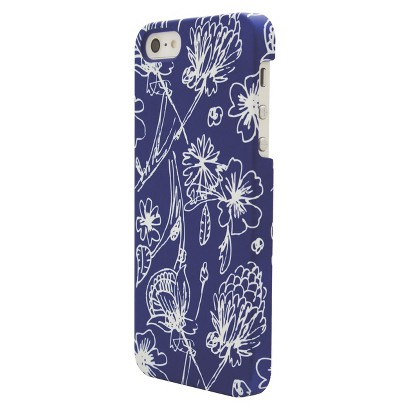 Mara Mi Sketch Floral Cell Phone Case for iPhone5 - Multicolor (CO7660)