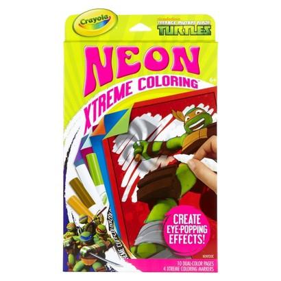Crayola Xtreme Coloring Neon-Teenage Mutant Ninja Turtles