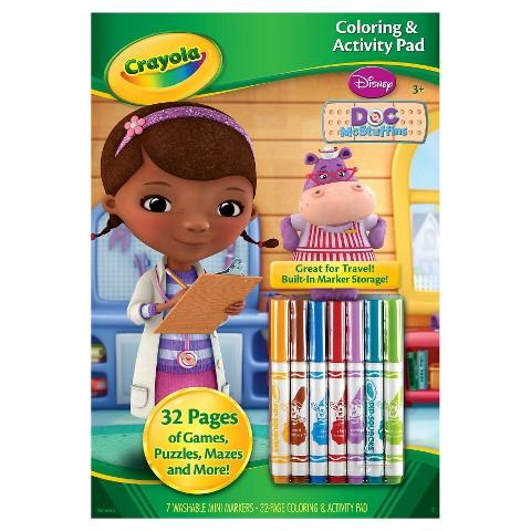 Crayola® Coloring & Activity Pad - Doc McStuffins