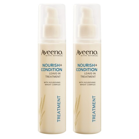 Aveeno Nourish + Condition Leave-In Treatment Set  - 2 Pack