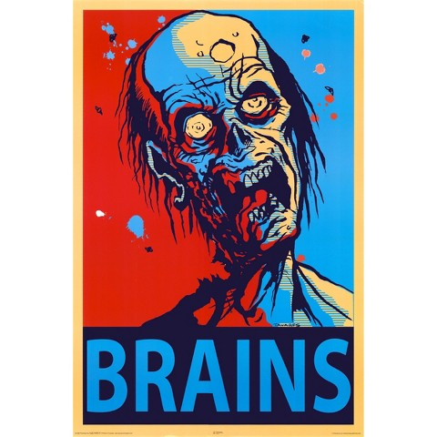 Art.com - Zombie Brains