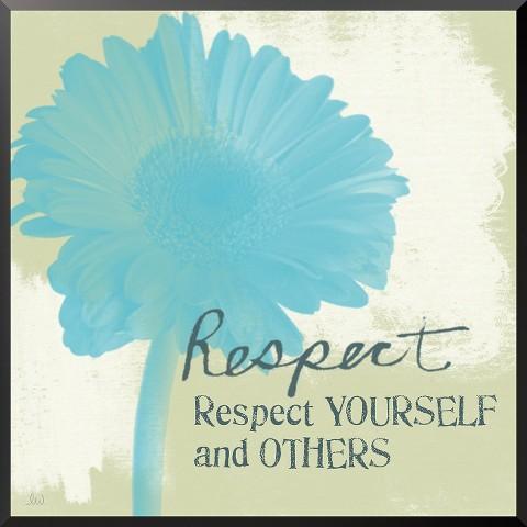 Art.com - Respect Mounted Print