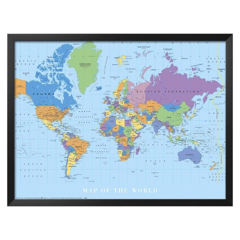 Art.com - Map Of The World