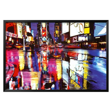 Art.com - Times Square - Colors Framed Poster