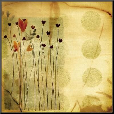 Art.com - Playful Meadow I Mounted Print