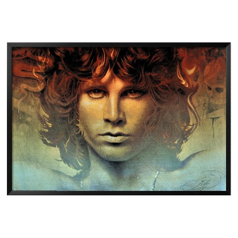Art.com - Spirit of Jim Morrison Framed Poster