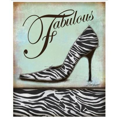 Art.com - Zebra Shoe
