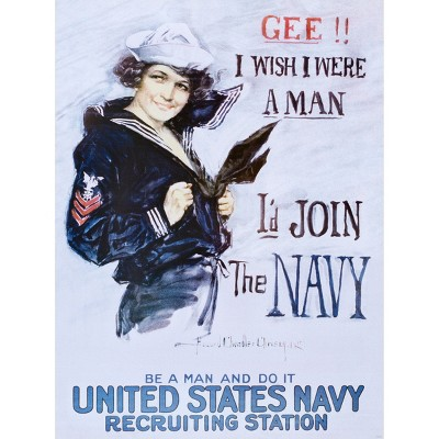 Art.com - Gee!! I Wish I Were a Man c.1918 Art Print
