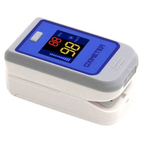 Quest Fingertip Pulse Oximeter With Colored LCD