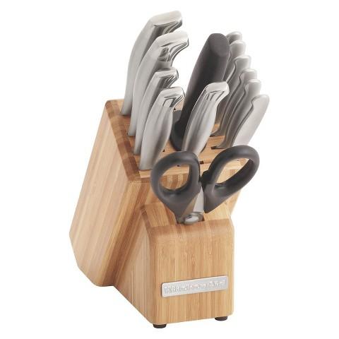 Kitchen Aid 14 Piece Block Knife Set