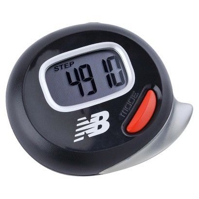 New Balance VIA Move Pedometer - Black