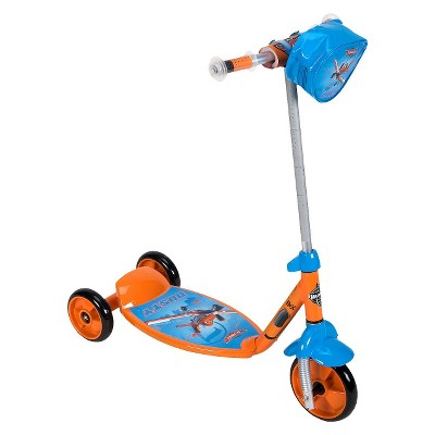 "Planes 6"" Scooter - Orange/Blue"