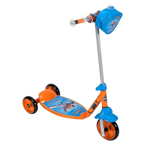 "Planes 6"" Scooter - Orange/Blue"