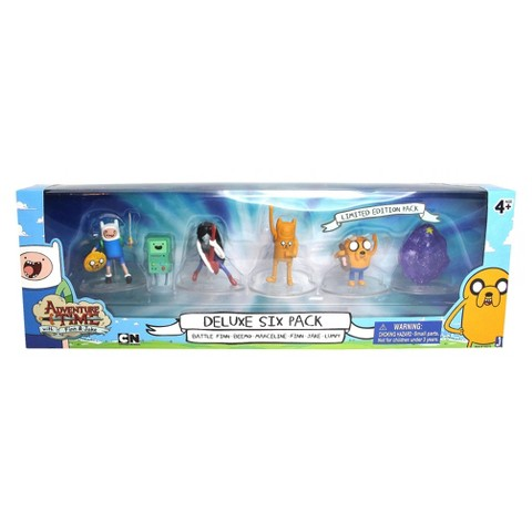 "Adventure Time Action Figure - Pack of 6 (2"")"
