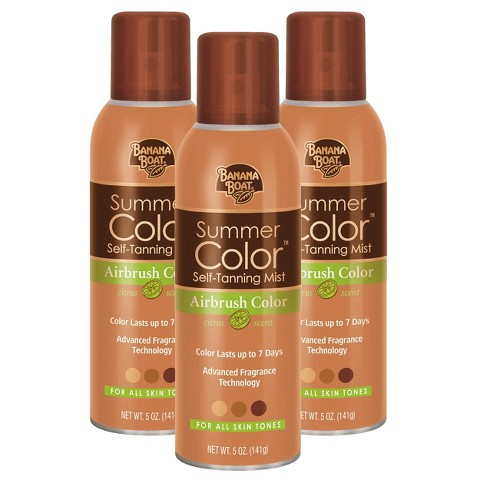 Banana Boat Summer Color Self Tanning Mist Set - 3 Pack