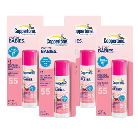 Coppertone® Water BABIES® Sunscreen Stick with SPF 55 - 4 Count
