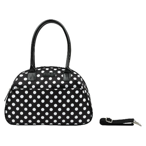 Sachi B & W Insulated Fashion  Lunch Tote