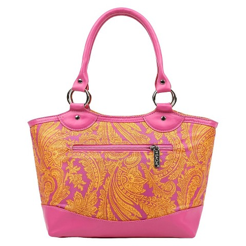 Sachi Pink Insulated Fashion Lunch Tote