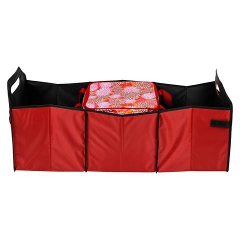 Sachi R & W Trunk Organizer w/ Insulated Cooler