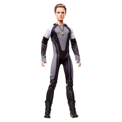 Barbie Collector The Hunger Games Catching Fire Peeta Mellark Doll