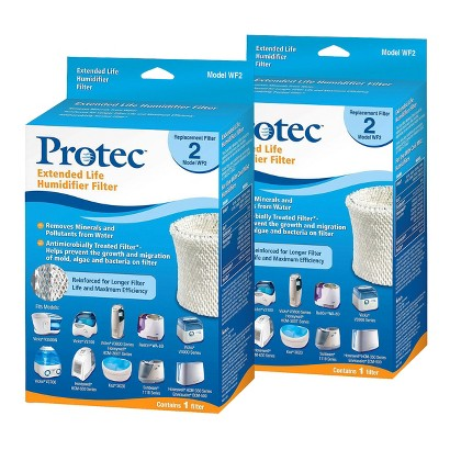 Protec Replacement Humidifier Filter - 2 Count