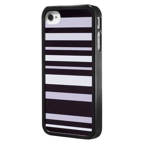 RuMe Cell Phone Case for iPhone4/4S - Black/White (TAR-4C61)