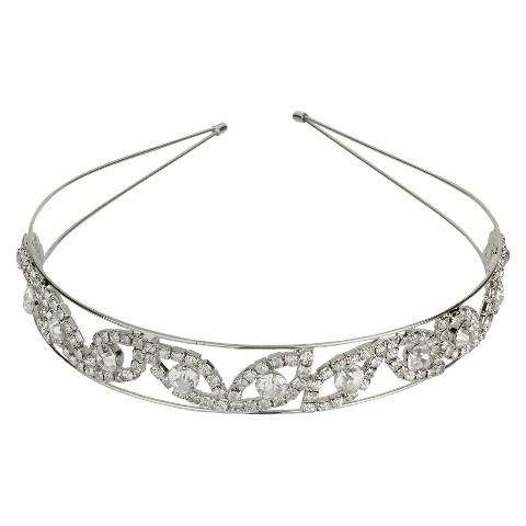 Crystal Headband -Silver