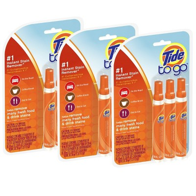 Tide To Go Instant Stain Remover Pen 3 ct, 3 pk