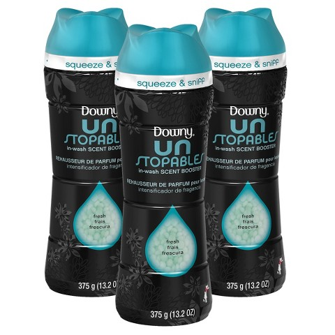Downy Unstopables Fresh Scent In-Wash Scent Booster 13.2 oz, 3 ct