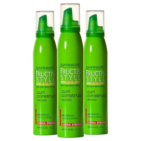 Garnier® Fructis Style® Curl Construct Mousse - 3 Pack - 6.8 oz each