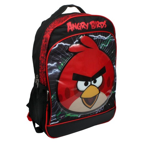 "Angry Birds Light Up Backpack (16"")"