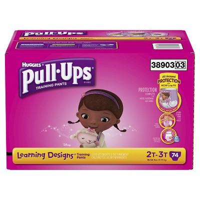 Pull-Ups® Training Pants with Learning Designs® for Girls 2T-3T (74 count)