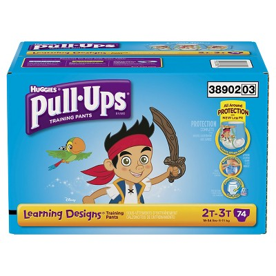 Pull-Ups® Training Pants with Learning Designs® for Boys 2T-3T (74 count)