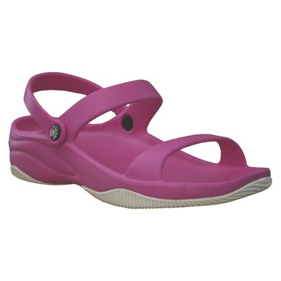 Girl's USA Dawgs Premium Sandals - Hot Pink/White