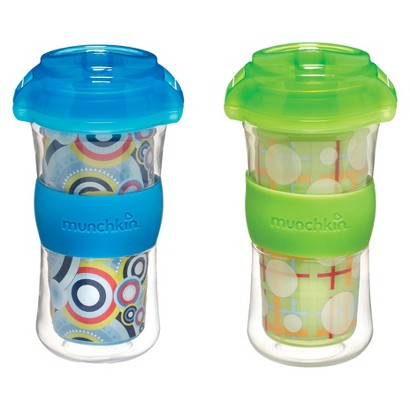 Munchkin 2pk 9oz Insulated Big Kid Cups