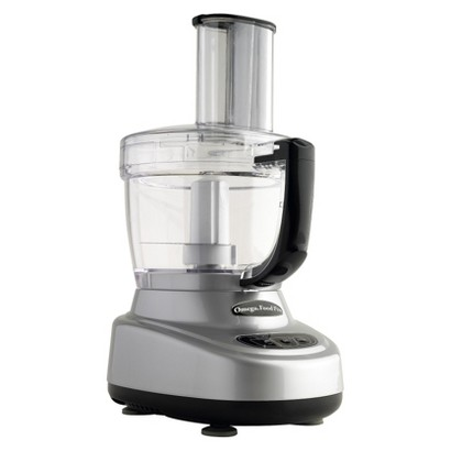 Omega Food Processor 11 & 4 cup - Silver