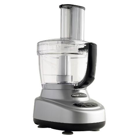 Omega Food Processor 11 & 4 cup - Silver