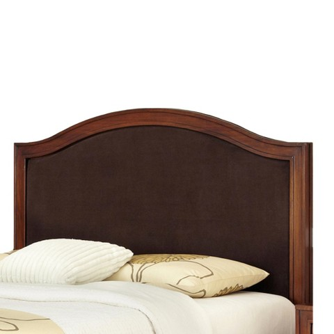 Home Styles Duet Microfiber Inset Headboard - Brown (Full/Queen)