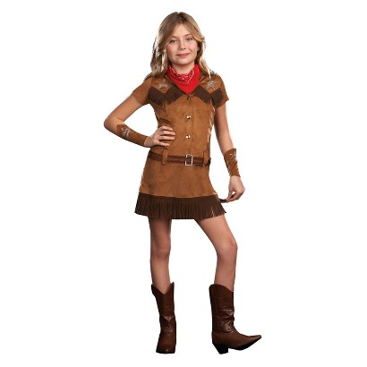 Girl's Cowgirl Diva Costume