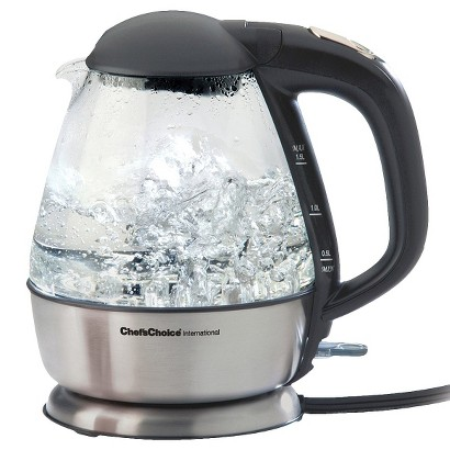 Chef'sChoice Cordless Electric Glass Kettle Model 680