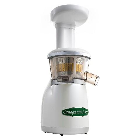 Omega VRT350W Vertical Low Speed Masticating Juicer
