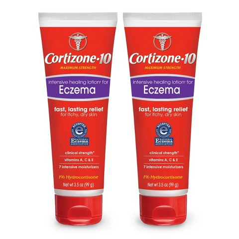 Cortizone 10® Intensive Healing Lotion for Eczema Itchy and Dry Skin