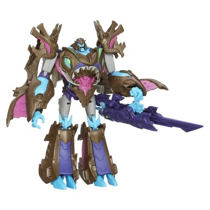 Transformers® Beast Hunter Voyager Class Sharkticon Megatron Figure