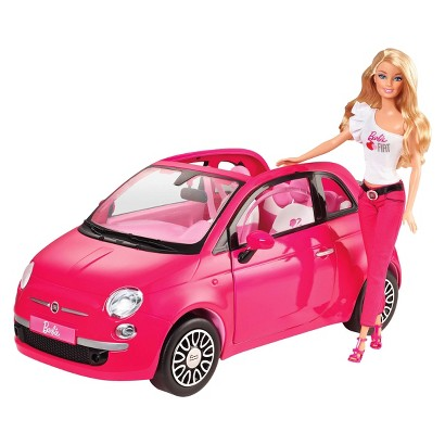 Barbie Fiat Car