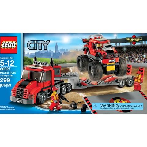 LEGO® City Monster Truck Transporter 60027